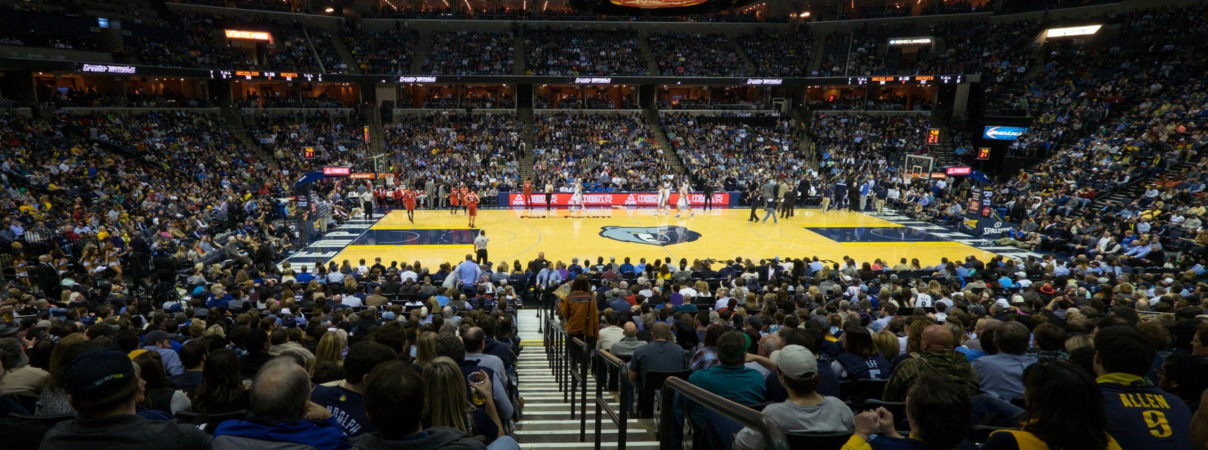 Seat view from Plaza Center
