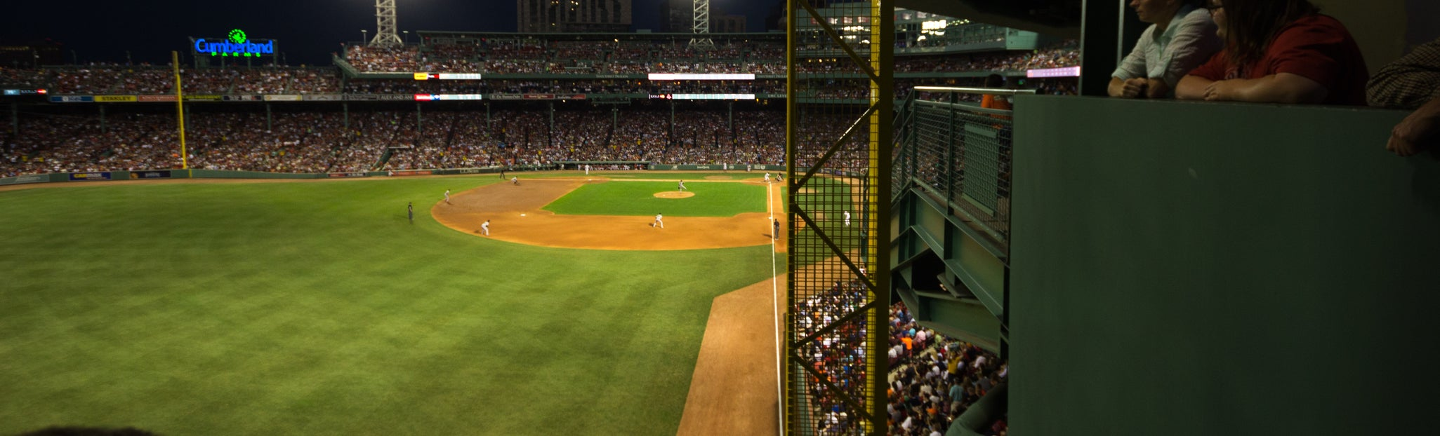 Seat view from Standing Room Only