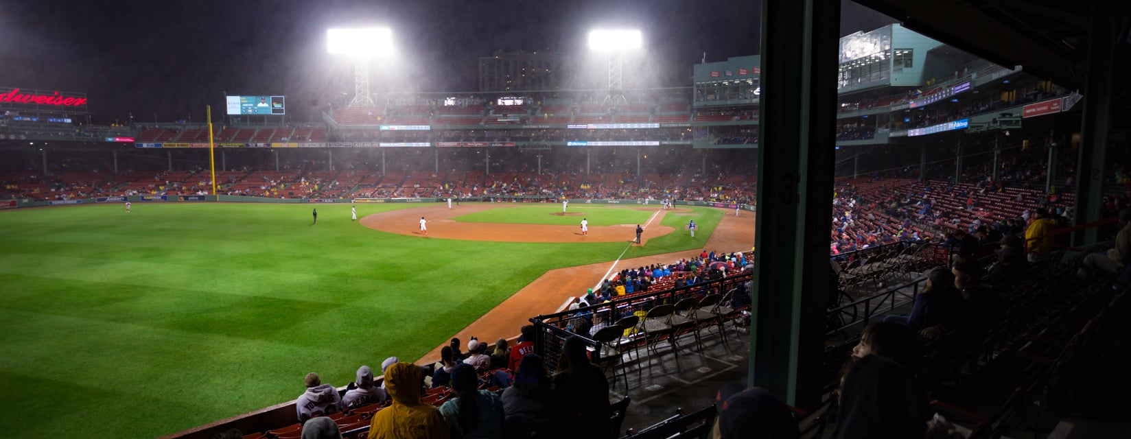 Seat view from Outfield Grandstand