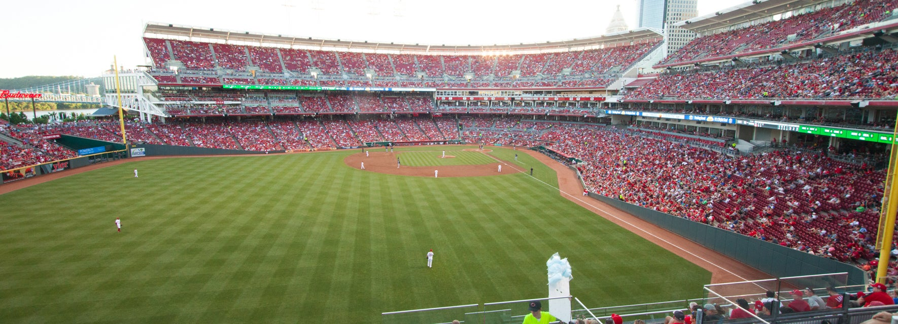 Seat view from Bleachers