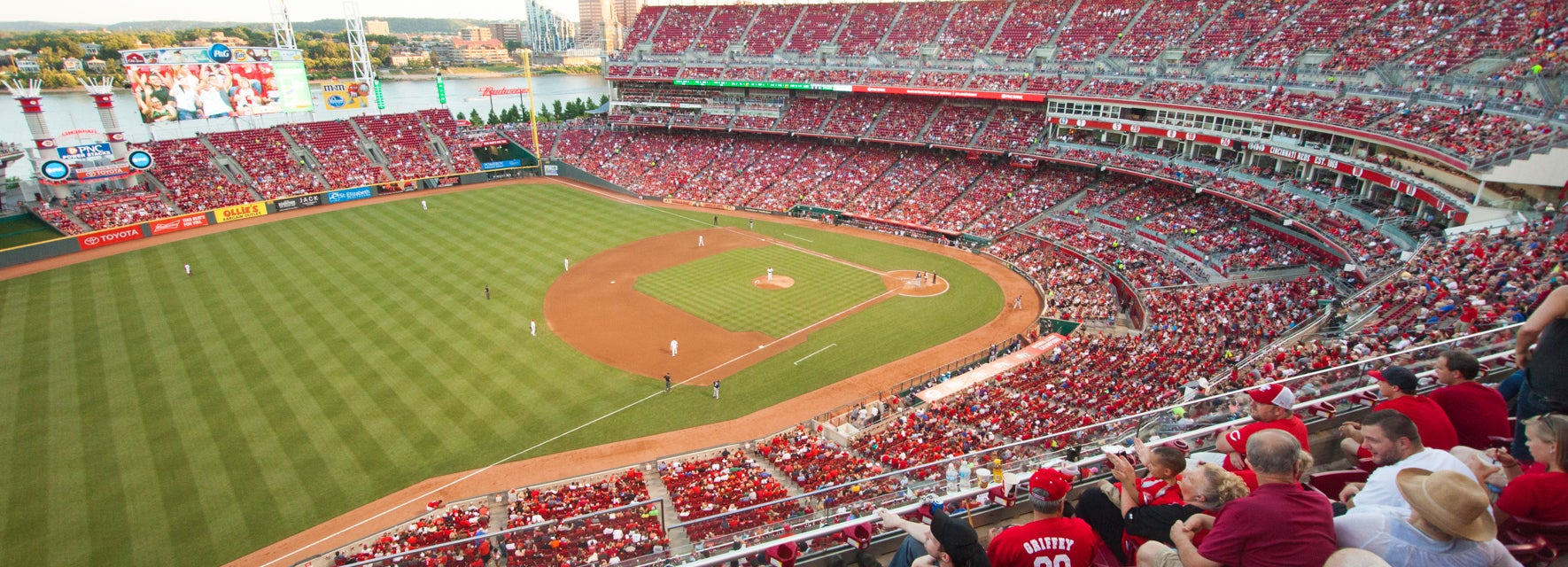 Seat view from View Level Line