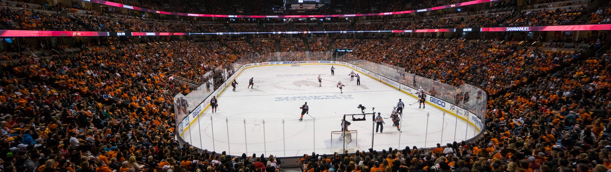 Seat view from Rinkside Goal