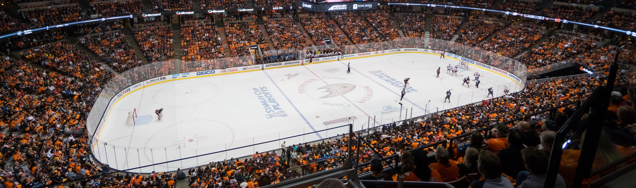 Seat view from Lower Terrace Center