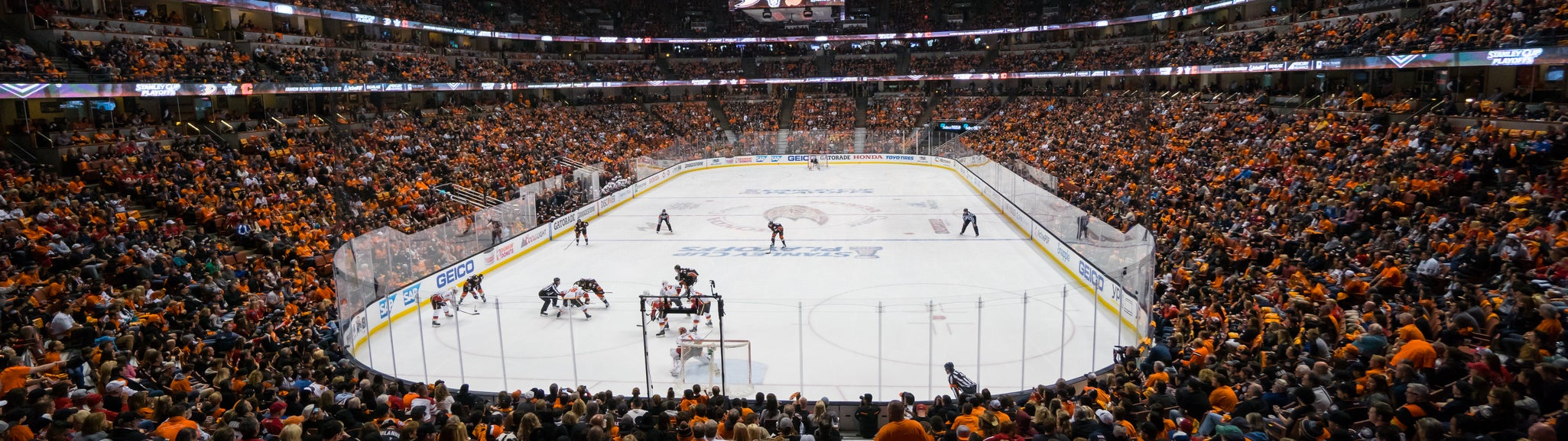Seat view from Plaza Goal