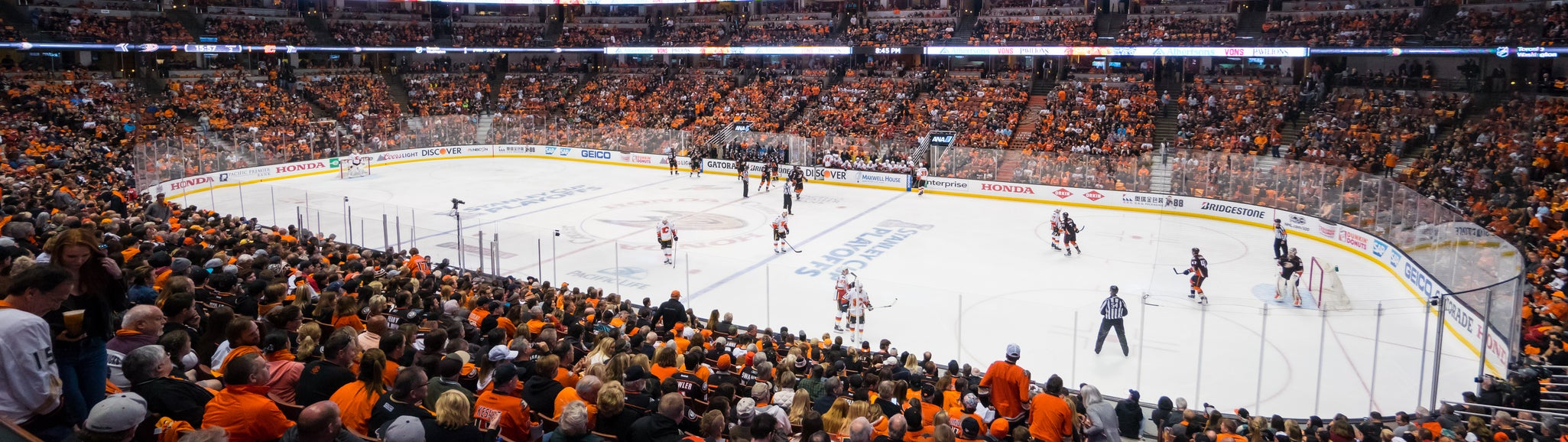 Seat view from Rinkside Center