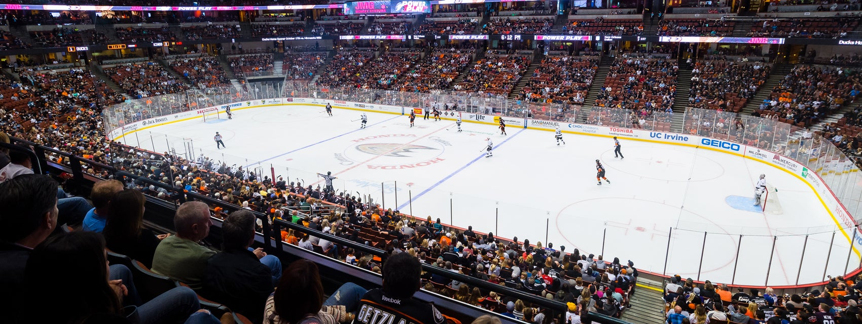 Seat view from Club Level Center