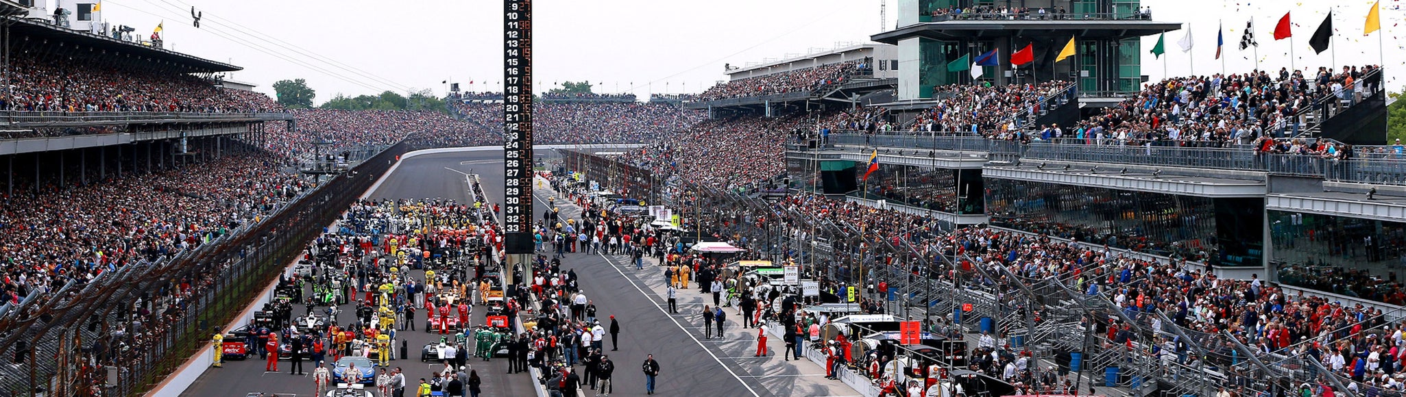 Seat view from Pit Road Terrace