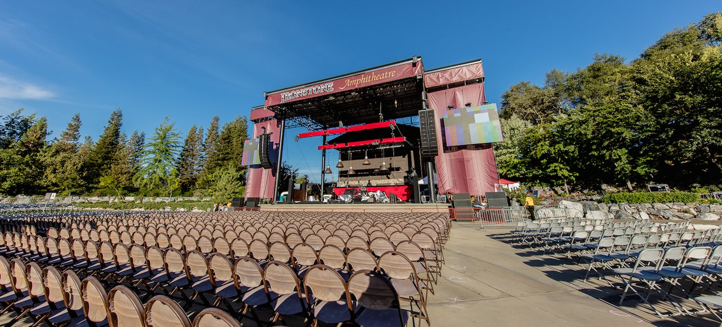 Seat view from GA Lawn