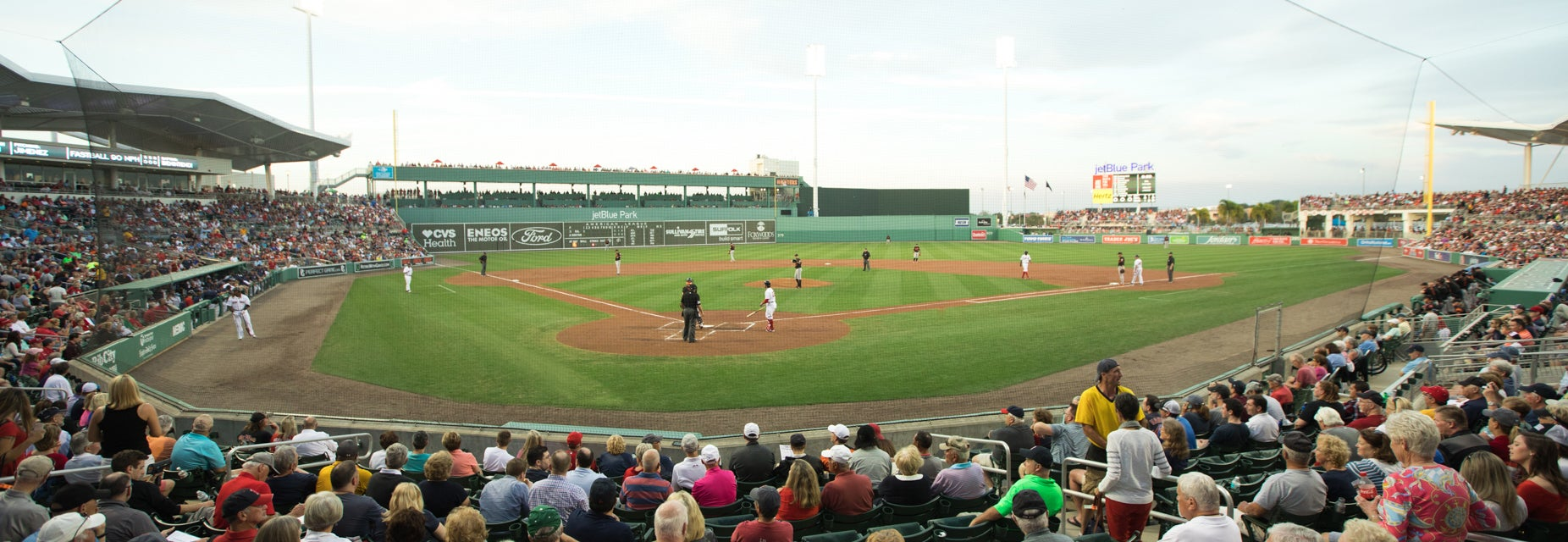 Seat view from Home Plate