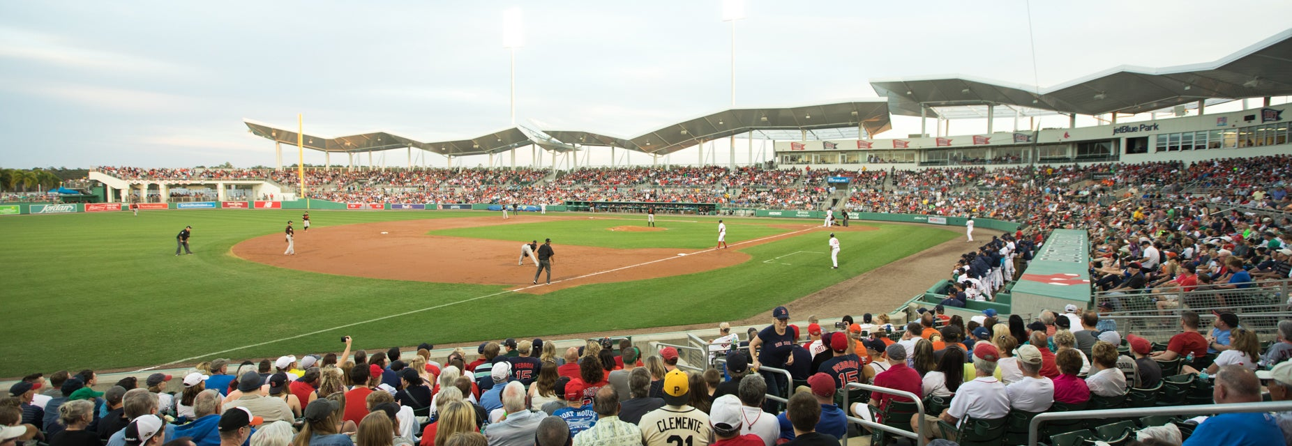 Seat view from Left Field Box