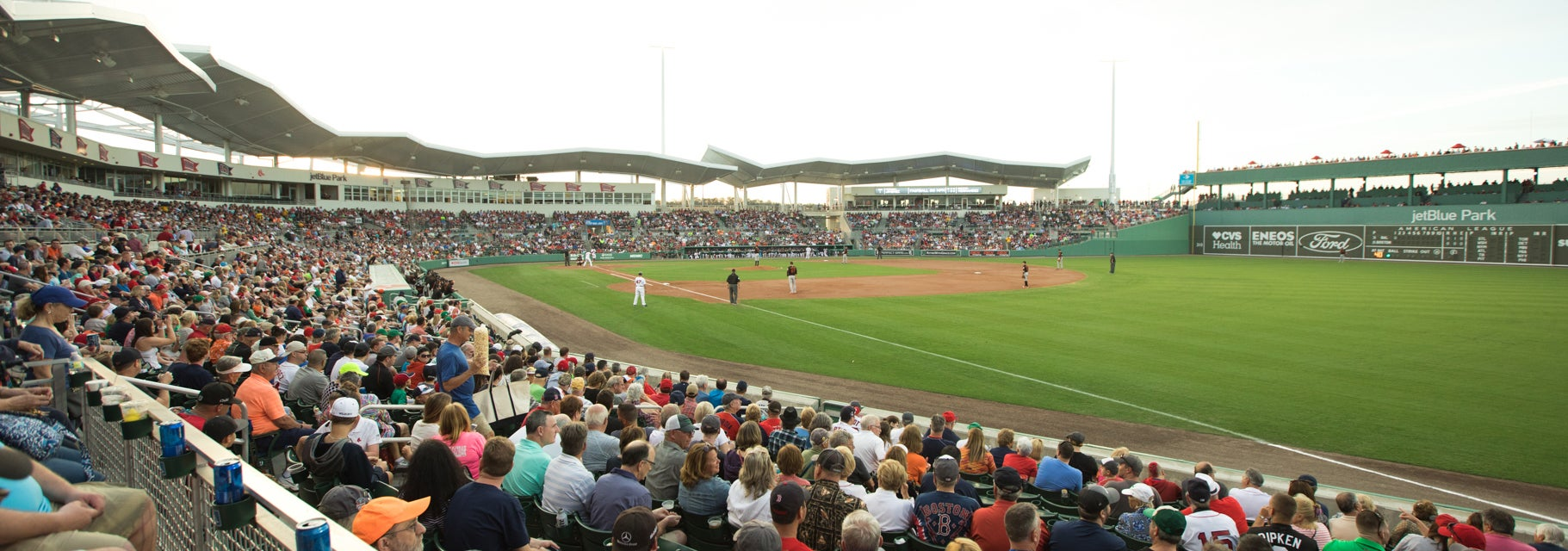 Seat view from Right Field Box