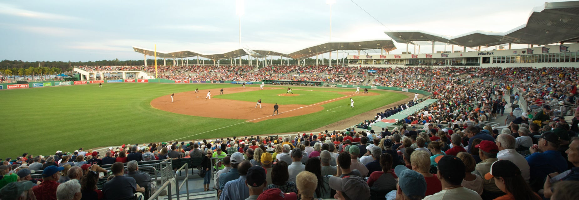 Seat view from Left Field Grandstand