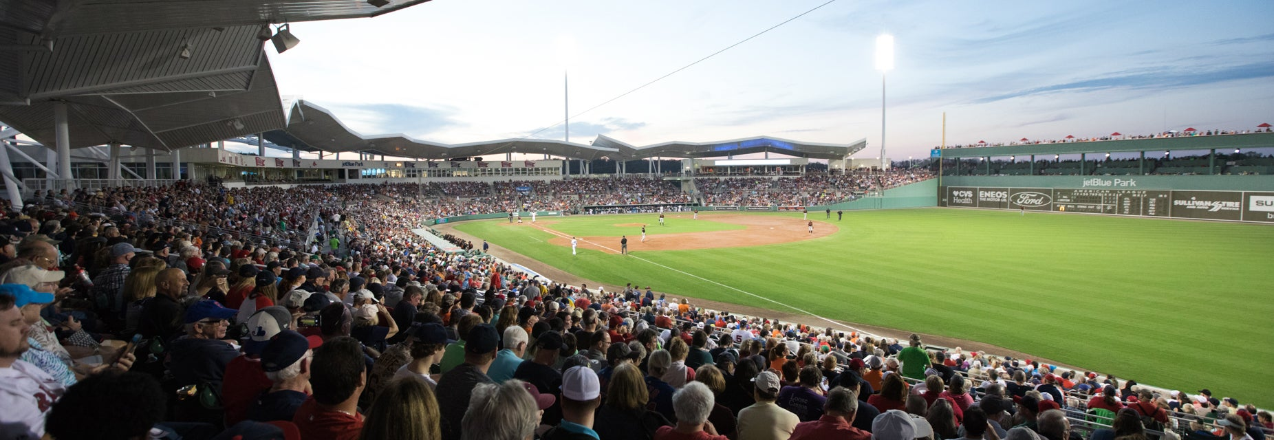 Seat view from Right Field Grandstand