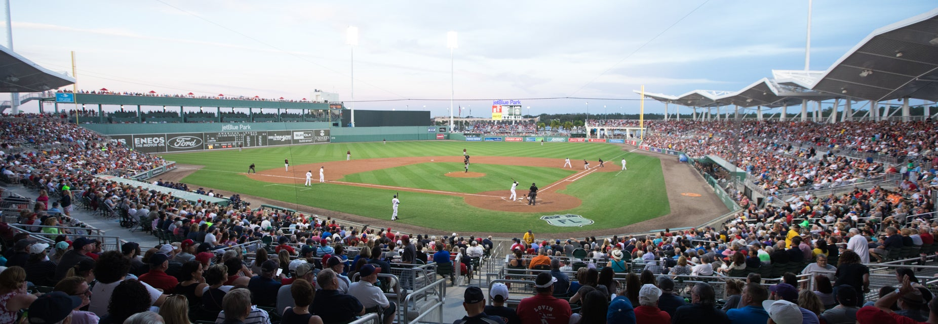 Seat view from Infield Grandstand