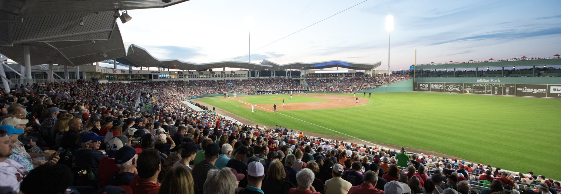 Seat view from RT Field Grandstand