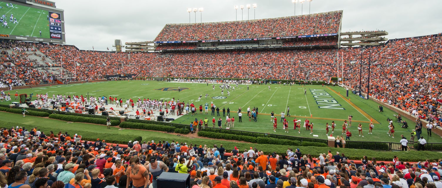 Seat view from Lower East Sideline