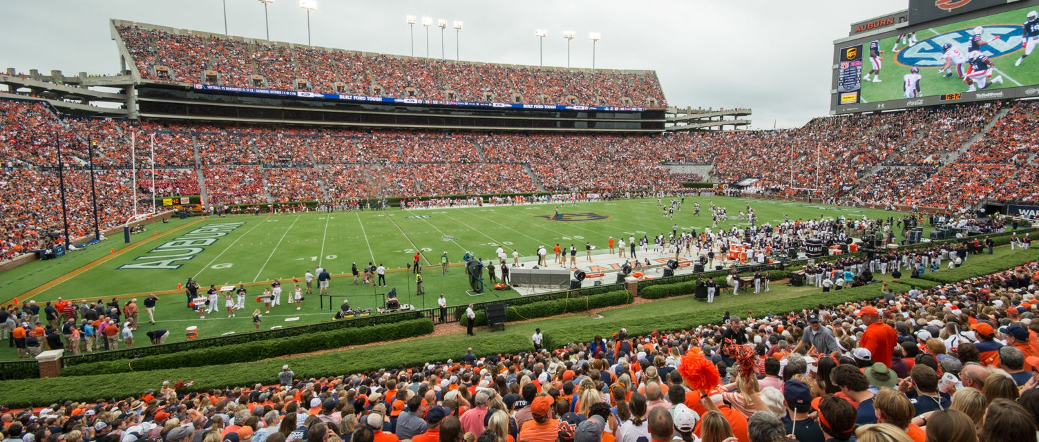 Seat view from Lower West Sideline