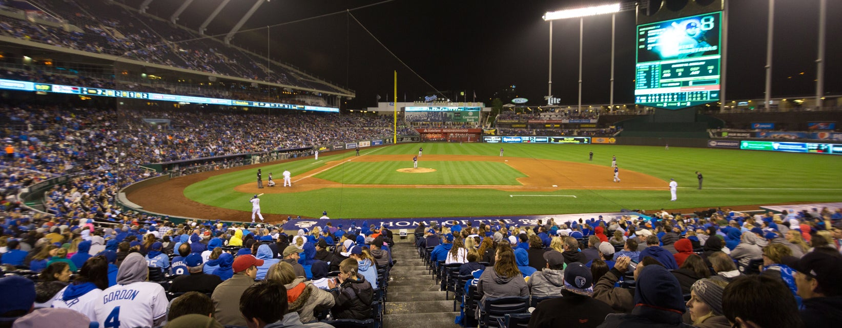 Seat view from Dugout Box