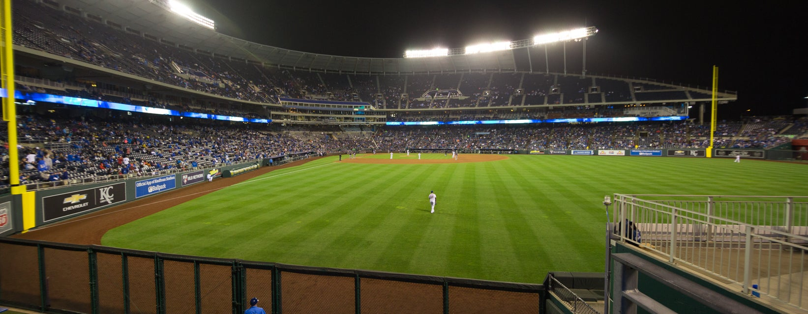 Seat view from Outfield Box