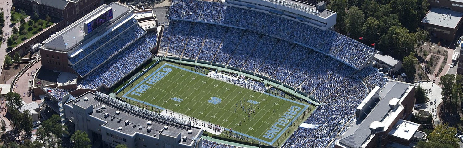 Seat view from Upper North Sideline