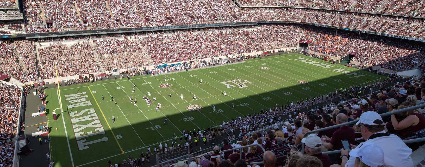 Seat view from Upper Level Sideline