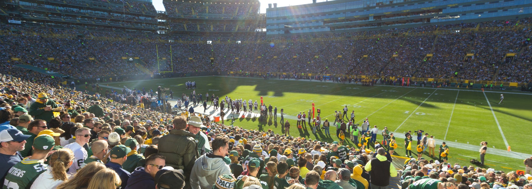 Seat view from Lower Level Sideline