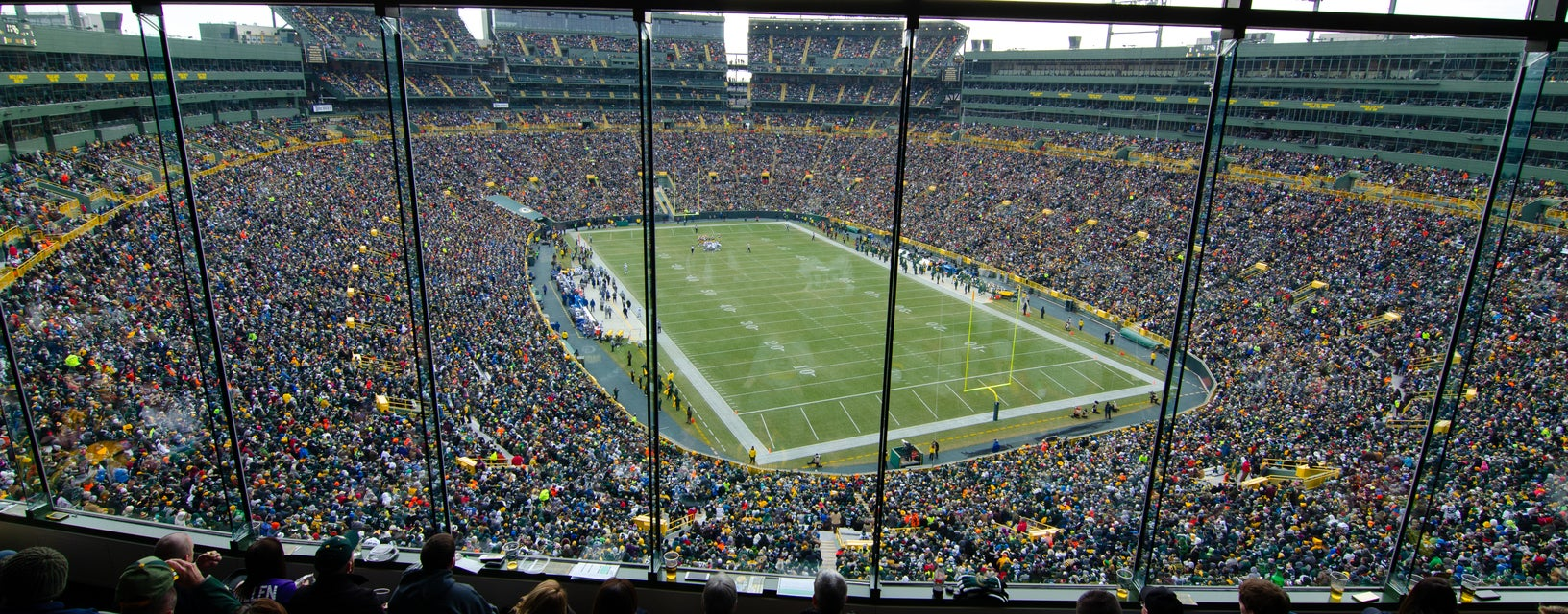 Seat view from Indoor Club
