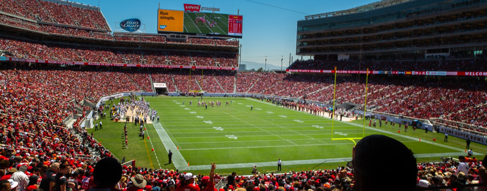 Seat view from Lower Endzone