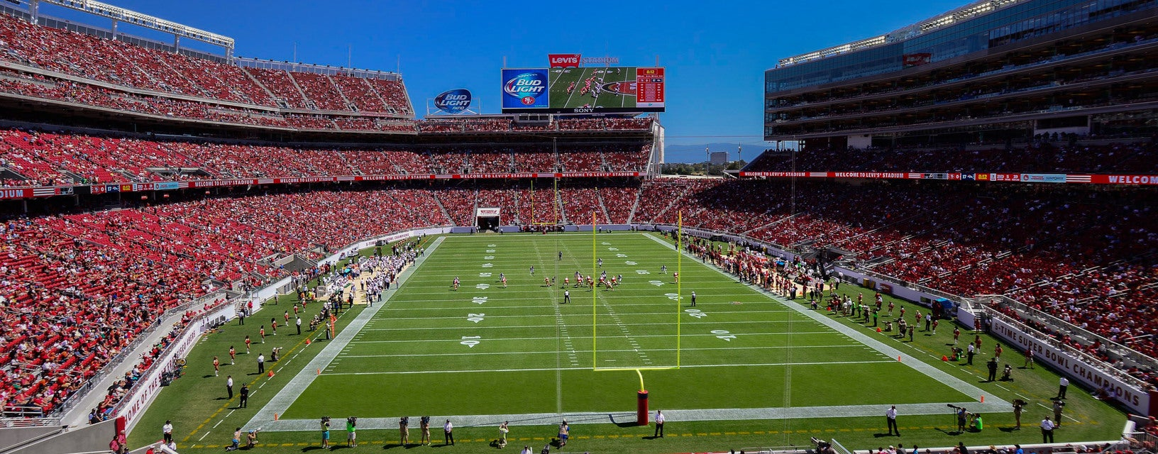 Seat view from Middle Endzone