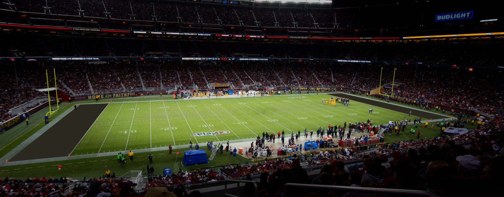 Seat view from Broadcast Club