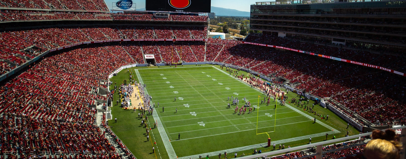 Seat view from Loge Endzone