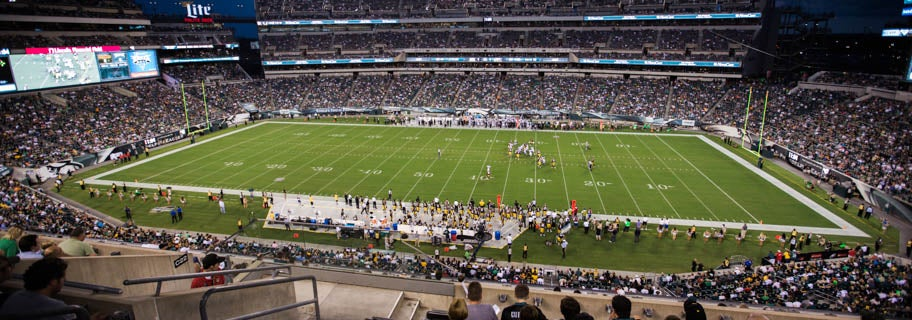 Seat view from Premier Club