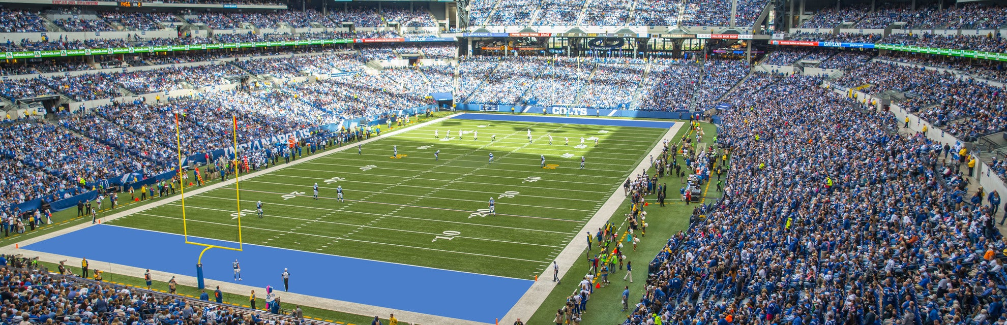 Seat view from Loge End Zone