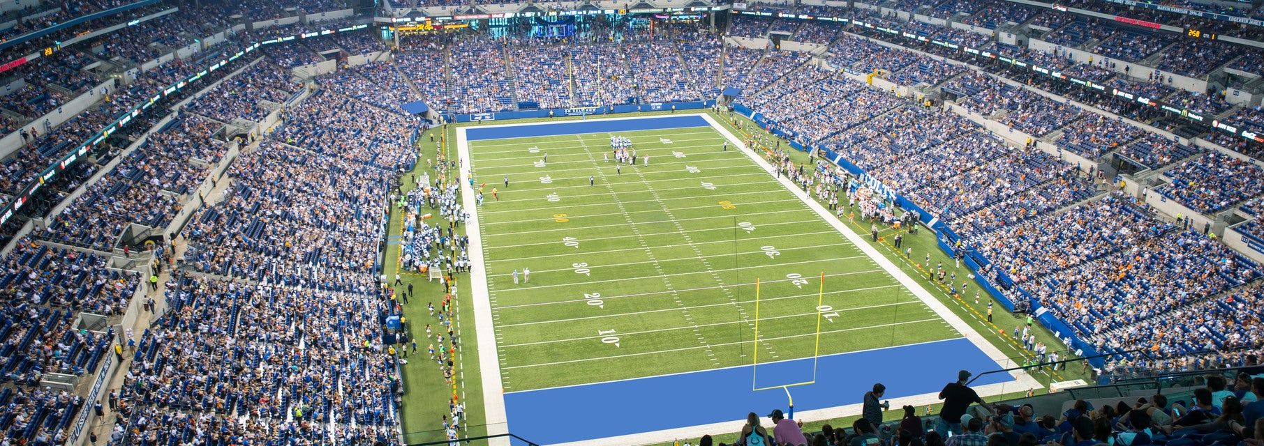 Seat view from Terrace End Zone