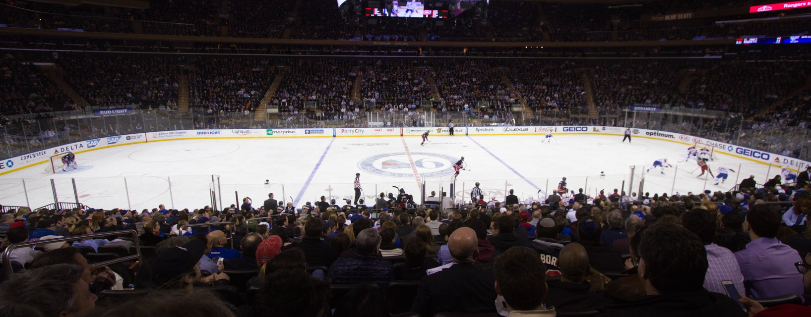 Seat view from Club Platinum