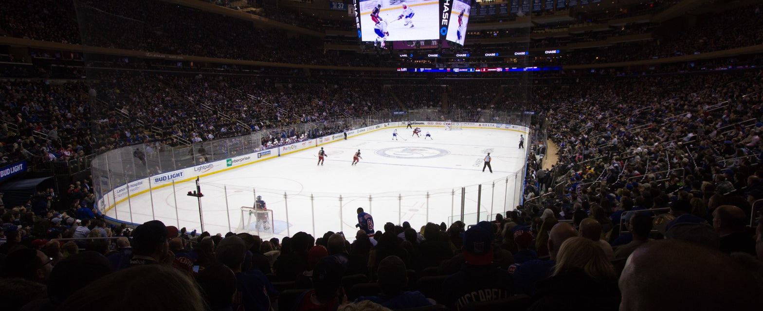 Seat view from Lower Goal Upper
