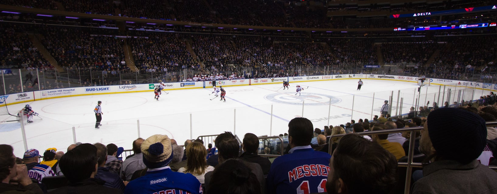 Seat view from Club Blue