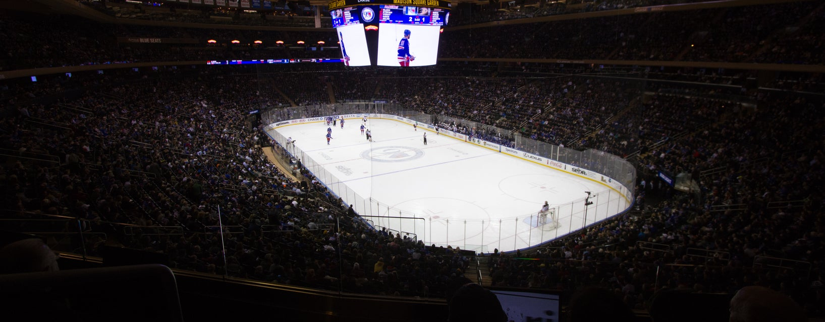 Seat view from Middle End