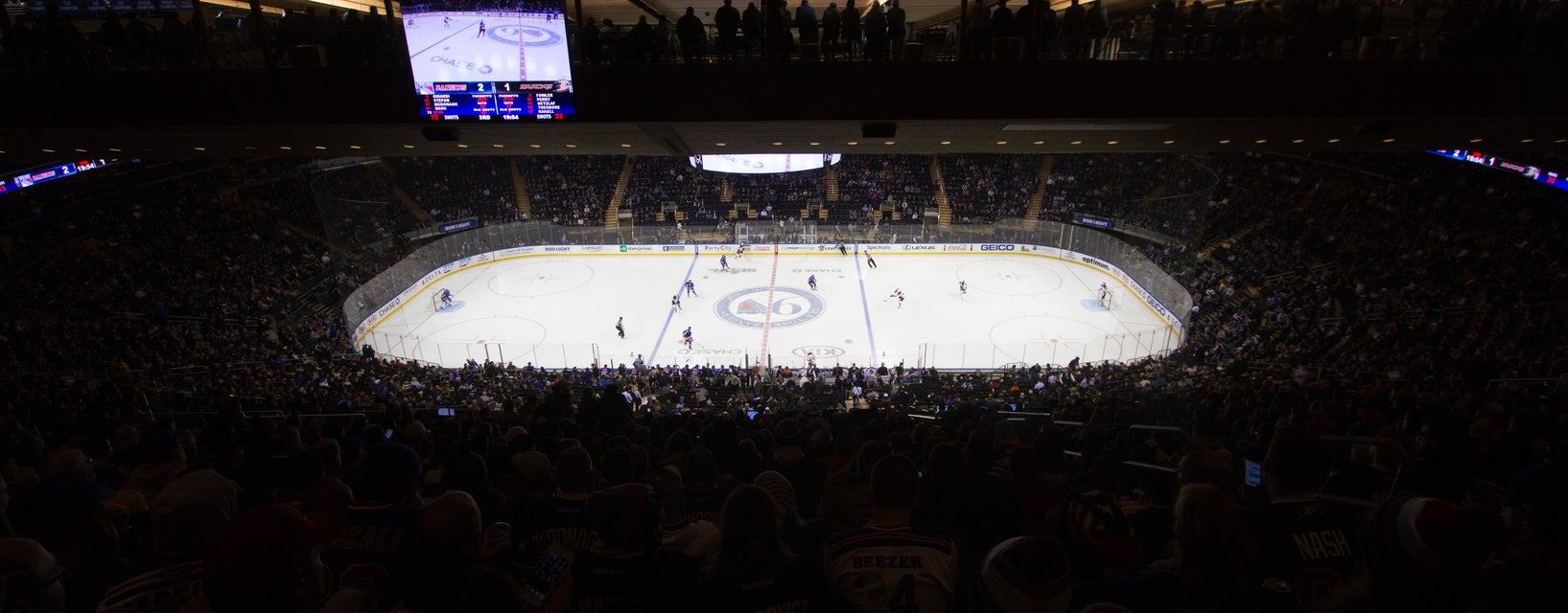 Seat view from Middle Center