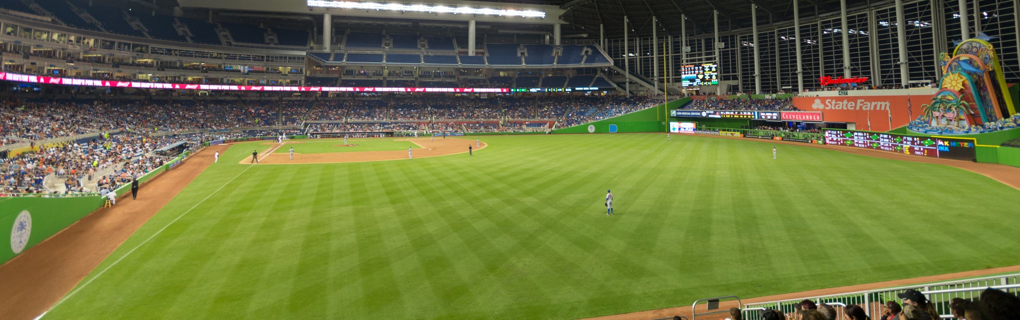 Seat view from Bullpen Reserved First Base