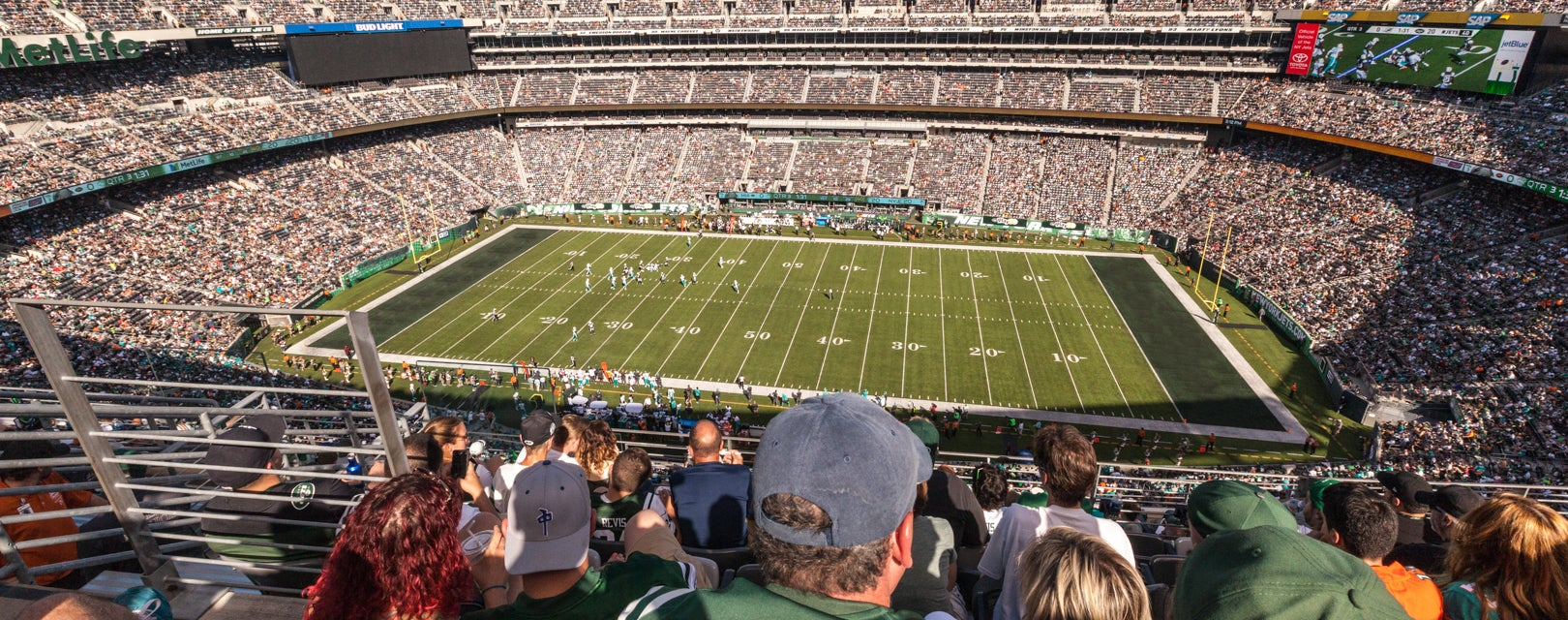 Seat view from Upper Sides