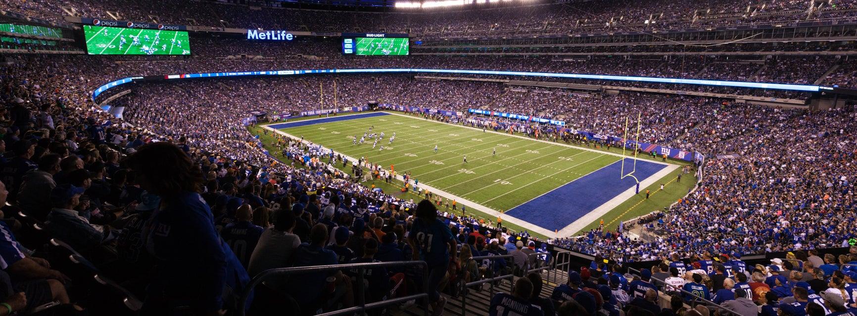 Seat view from Mezzanine Club C