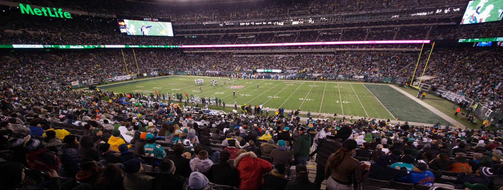 Seat view from Coaches Club