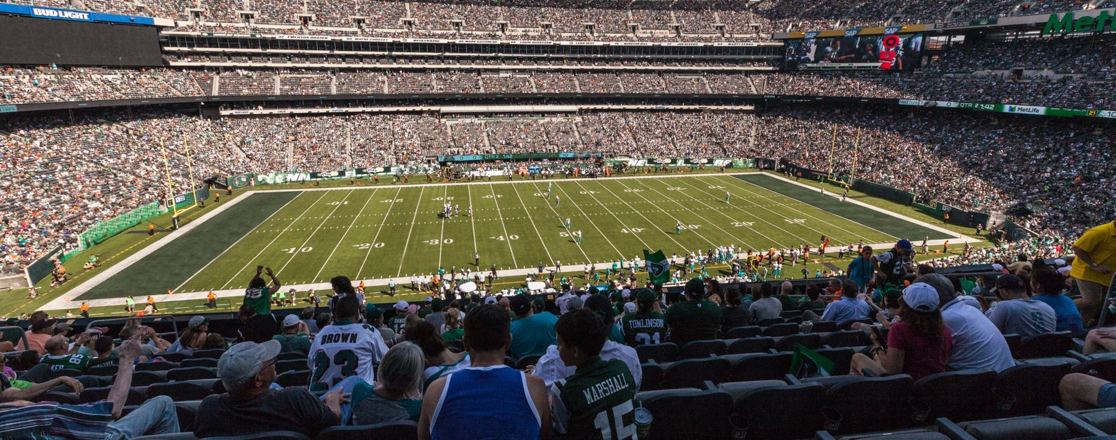 Seat view from Mezzanine Club
