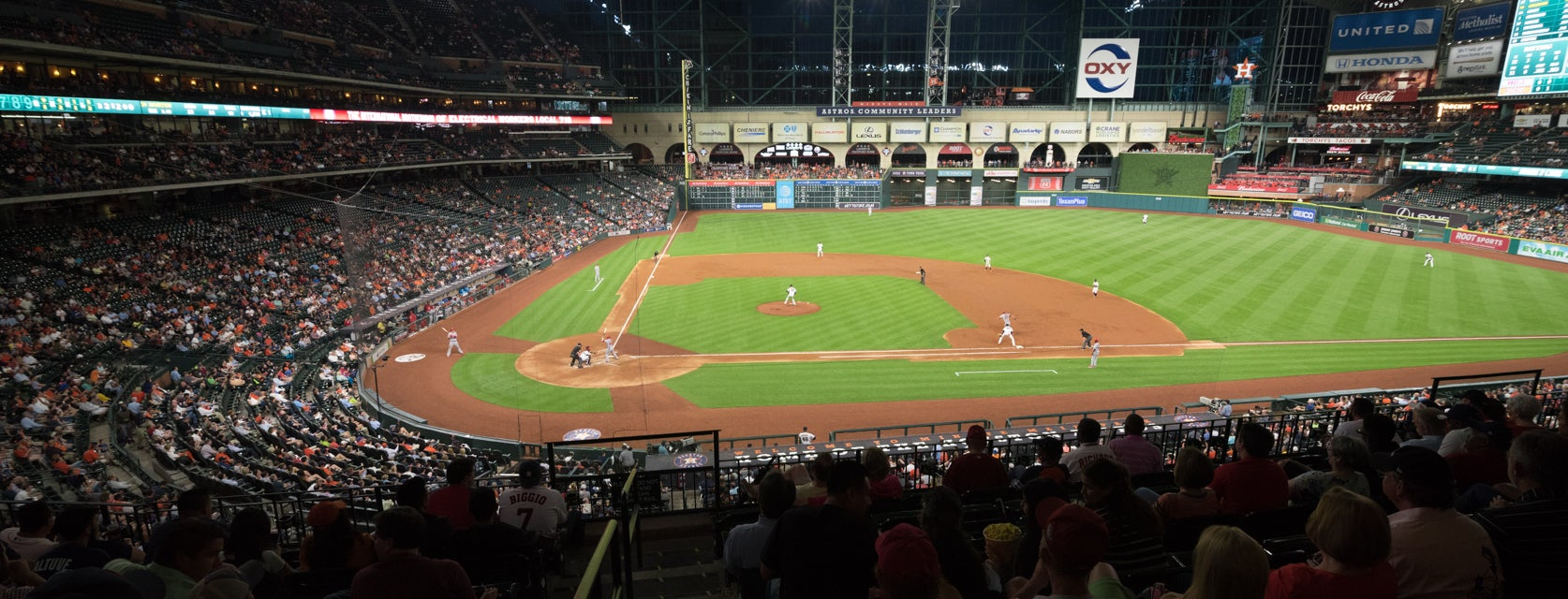 Seat view from Club I