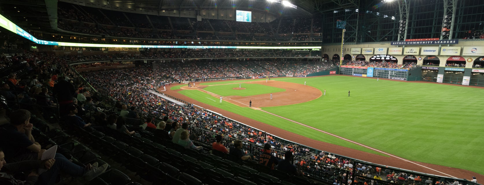 Seat view from Club II