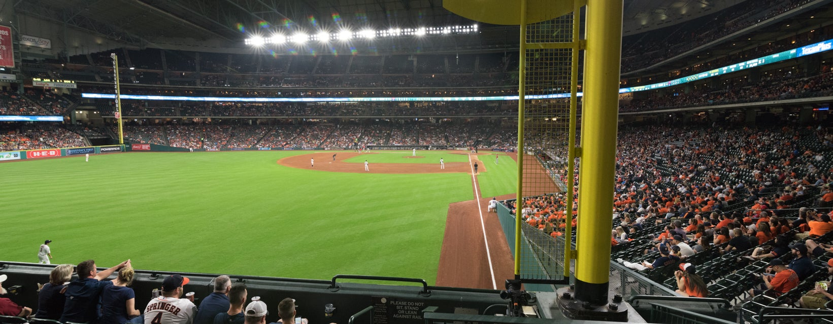 Seat view from Crawford Box