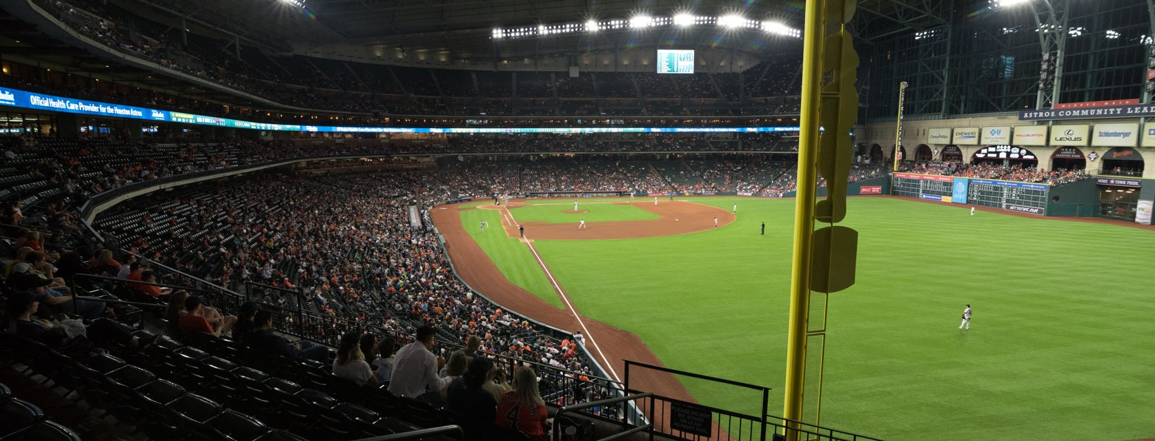 Seat view from Power Club
