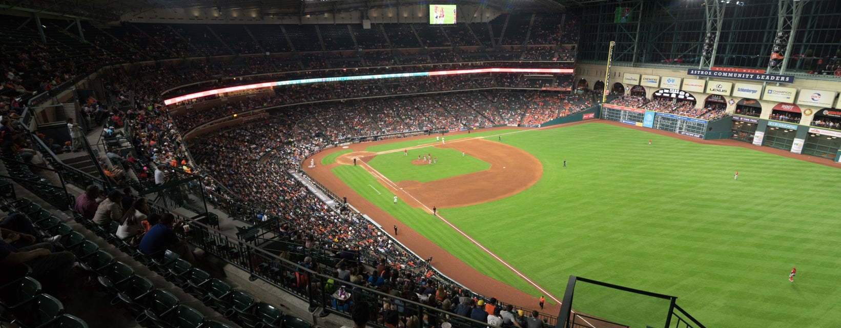 Seat view from Outfield Deck I