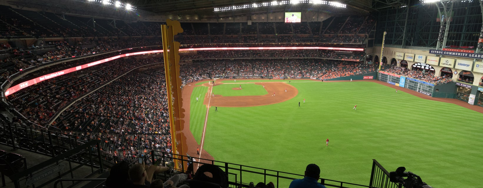 Seat view from Outfield Deck II
